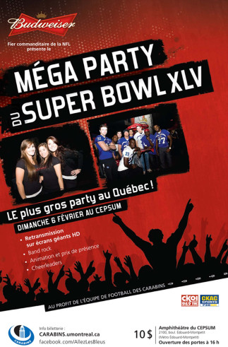 Méga party du Super Bowl XLV