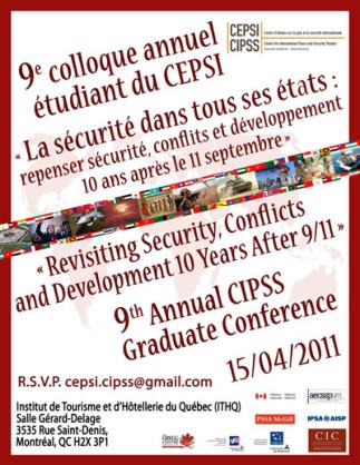 9e Colloque annuel étudiant du CEPSI