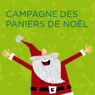 Campagne des paniers de Noël : début de la collecte de dons et denrées!