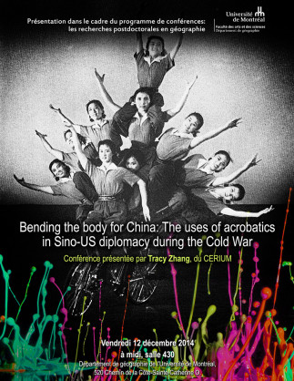 Bending the body for China: The uses of acrobaticsin Sino-US diplomacy during the Cold War