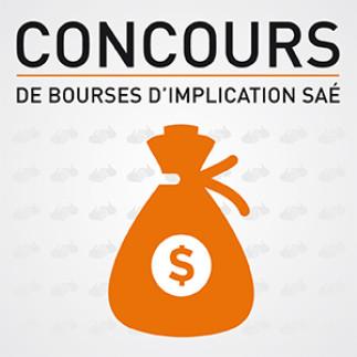 Concours - bourses d'implication SAÉ