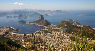Cinq métropoles du Sud : São Paulo, Rio de Janeiro, Montevideo, Buenos Aires et Santiago