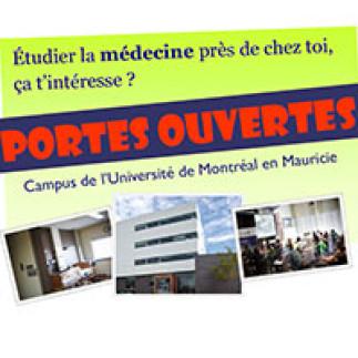 Portes ouvertes : Campus de l'Université de Montréal en Mauricie