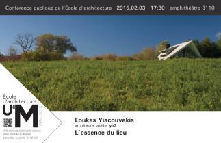 L'essence du lieu avec l'architecte Loukas Yiacouvakis