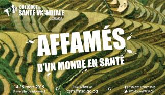 Colloque de Santé Mondiale d'IFMSA Québec 2015