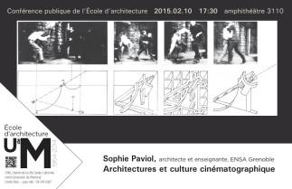 Architectures et culture cinématographique avec Sophie Paviol