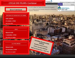 Cycle de films : « Cortázar »