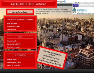 Cycle de films: « Cortázar »