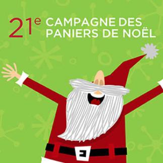 Campagne des paniers de Noël : collecte de dons et denrées!