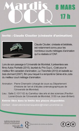 Mardi OCQ : Claude Cloutier