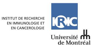 Les Midis Pizza-Science de l'IRIC avec Dr Vincent Archambault