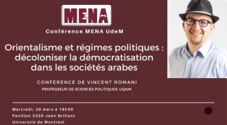 Démocratie et décolonisation dans les sociétés arabes