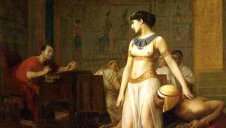 Cléopâtre, César et Marc-Antoine : triangle amour