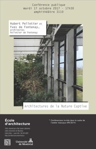 Architectures de la nature captive