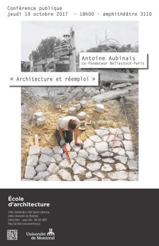 Architecture et réemploi - L'expérimentation de Bellastock