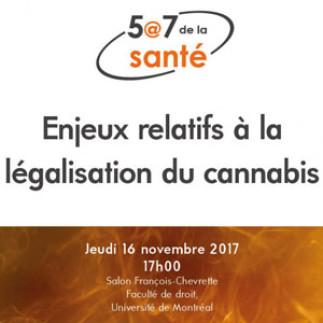 5@7 - Enjeux relatifs à la légalisation du cannabis