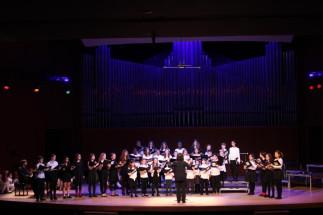 Noël des chœurs de l'École des jeunes et de La classe enchantée