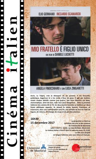 Cinéma Italien - Mon frère est fils unique