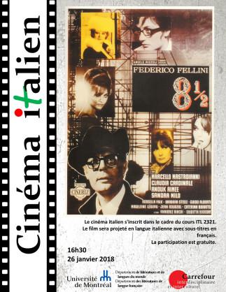Cinéma Italien - «Huit et demi» de Federico Fellini