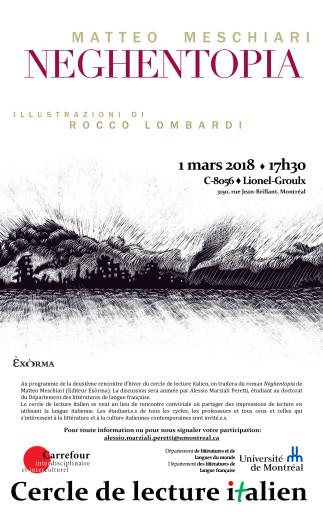 Cercle de lecture italien - «Neghentopia» de Matteo Meschiari