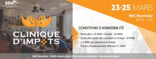 Clinique d'Impôts 2018 - HEC Montréal