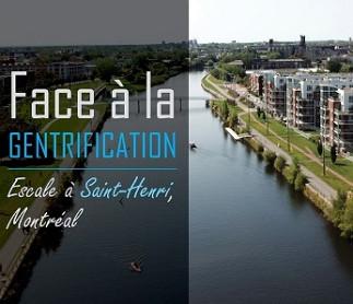 Exposition : Face à la gentrification - Escale à St-Henri, Montréal