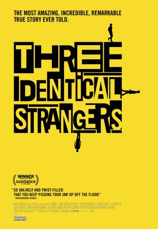 Trois étrangers identiques (Three Identical Strangers) au Ciné-Campus