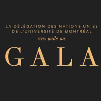 Gala d'anniversaire de la Délégation des Nations Unies de l'UdeM