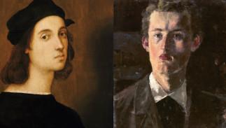 L'autoportrait en peinture du XV ième au XX ième siècle