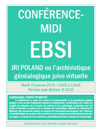 JRI POLAND ou l'archivistique généalogique juive virtuelle