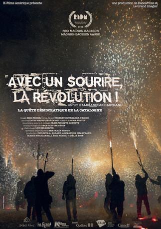 Avec un sourire, la révolution! à l'affiche au Ciné-Campus