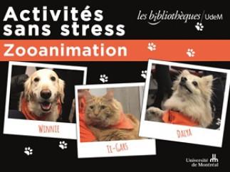 Activités sans stress : Zooanimation à la Bibliothèque de mathématiques et informatique