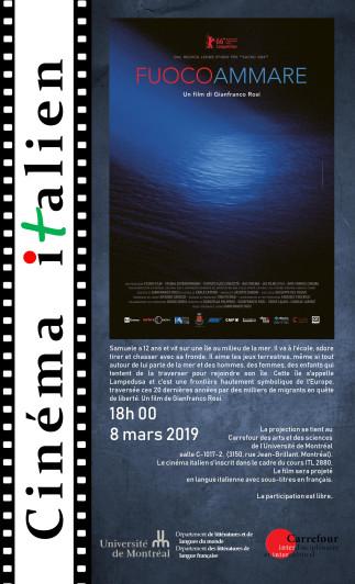 Cinéma italien - «Fuocoammare» de Gianfranco Rosi