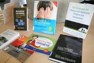 Vitrine thématique - Anxiété - Bibliothèque Campus de Laval