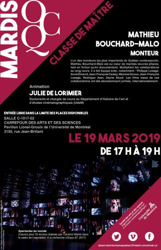 Mardi OCQ : Ciné-Club avec Mathieu Bouchard-Malo