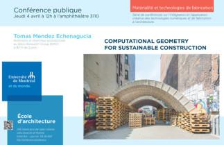 Tomás Méndez sur la conception numérique pour la construction durable