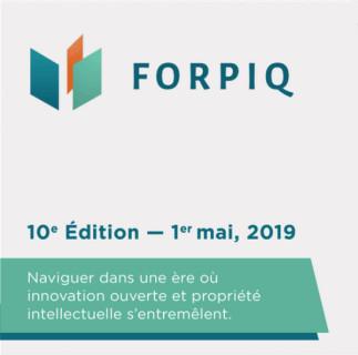 FORPIQ 2019 - Forum International sur la Propriété Intellectuelle - Québec