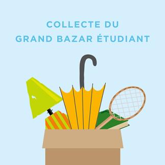 Collecte du Grand Bazar étudiant