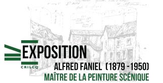 Exposition | Alfred Faniel (1879-1950) : maître de la peinture scénique