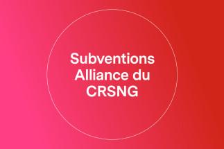 Invitation  - Présentation du programme Alliance CRSNG