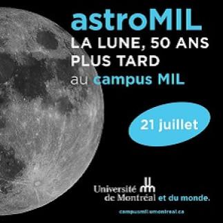 astroMIL : la lune, 50 ans plus tard