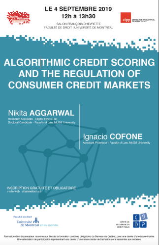 Algorithmic Credit Scoring and the Regulation of Consumer Credit Markets
