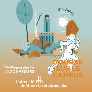 Participez à la 6e Course sur le Campus et rejoignez la communauté des sportifs de l'Université de Montréal