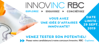 Appel à candidatures : concours Innovinc. RBC