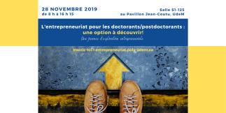 Journée d'exploration entrepreneuriale pour doctorants et postdocs à l'UdeM