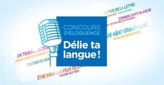 Finale du concours d'éloquence «Délie ta langue!»