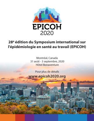 28e édition du Symposium international sur l'épidémiologie en santé au travail (EPICOH)