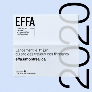 EFFA - Exposition en ligne des finissants de la Faculté de l'aménagement