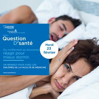 QUESTION D'SANTÉ | Avec Dre Nelly Huynh et Dr Gilles Lavigne