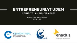 Entrepreneuriat UdeM - Joins-toi au mouvement!